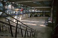 London:  Jubilee Line, Bermondsey Station.  Ian Ritchie Architects. Photo 2005.