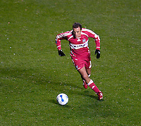 Chicago Fire forward Cuauhtemoc Blanco (10). The Chicago Fire defeated D. C. United 1-0 during the first leg of the MLS Eastern Conference Semifinal Series at Toyota Park in Bridgeview, IL, on October 25, 2007.
