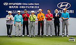 Guest attends the Open Ceremony ahead of the Hyundai China Ladies Open 2014 on December 10 2014, in Shenzhen, China. Photo by Li Man Yuen / Power Sport Images