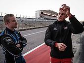 Felix Rosenqvist, Chip Ganassi Racing Honda, Marcus Ericsson, Chip Ganassi Racing Honda