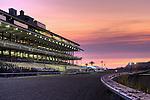 29 August 2009: Del Mar Thoroughbred Club. Sunset at Del Mar Race Track, Del Mar, CA
