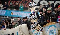 Lars Van der Haar fans <br /> <br /> Zolder CX UCI World Cup 2014