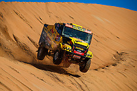504 Macik Martin (cze), Tomasek Frantisek (cze), Svanda David (cze), Iveco, Big Shock Racing, Truck, Camion, action during Stage 11 of the Dakar 2020 between Shubaytah and Haradh, 744 km - SS 379 km, in Saudi Arabia, on January 16, 2020  <br /> Rally Dakar <br /> 16/01/2020 <br /> Photo DPPI / Panoramic / Insidefoto