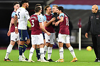 Jarrod Bowen of West Ham United At the Final Whistle  during West Ham United vs Aston Villa, Premier League Football at The London Stadium on 30th November 2020