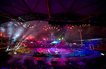 *This image must be credited to Ian Cook Sportingwales and can only be used in conjunction with this event only*<br /> <br /> 21st Commonwealth Games - Wales Opening Ceremony - Carrara Stadium - 04/04/2018 - Gold Coast City - Australia