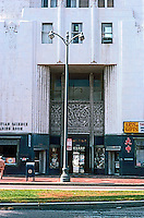 Los Angeles: Desmonds, Entrance.  Photo '82.