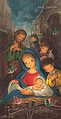 Sue Allison, HOLY FAMILIES, paintings, BRTOCH08634,#XR# Weihnachten, Navidad, illustrations, pinturas