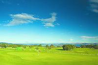 The Firth of Forth from Silverknowes Golf Course, Lothian