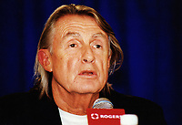 """22 June 2020 - Director Joel Schumacher, known for box office hits including """"St. Elmo's Fire,"""" """"The Lost Boys"""", """"Falling Down"""", as well as two """"Batman"""" films has died at age 80. File Photo: 2002 Toronto International Film Festival, Toronto, Ontario, Canada. Photo Credit: Brent Perniac/AdMedia"""