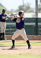 Emmanuel Quiles / San Diego Padres 2008 Instructional League..Photo by:  Bill Mitchell/Four Seam Images