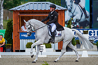 AUS-Warren Lamperd rides Silvia during the Dressage for the Longines CCI5*-L. The Longines Luhmuehlen International Horse Trials. Salzhausen, Germany. Thursday 13 June. Copyright Photo: Libby Law Photography