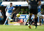 St Johnstone v Celtic…20.08.16..  McDiarmid Park  SPFL<br />Danny Swanson has a shot at goal<br />Picture by Graeme Hart.<br />Copyright Perthshire Picture Agency<br />Tel: 01738 623350  Mobile: 07990 594431