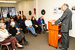 "WINSTED, CT, CT - 30 NOVEMBER 2018 - 122918JW02.jpg -- Winsted resident Ralph Nader discusses the operations of Congress during the book signing for his new book ""How The Rats Re-formed Congress"", Saturday afternoon at the Winsted Community Bookstore. Jonathan Wilcox Republican-American"