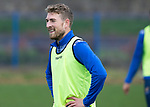 St Johnstone Training….21.10.20     <br />Davod Wotherspoon all smiles during training at McDiarmid Park ahead of Saturday's game against Dundee United.<br />Picture by Graeme Hart.<br />Copyright Perthshire Picture Agency<br />Tel: 01738 623350  Mobile: 07990 594431