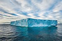 Antarctica. Icebergs in the Weddell Sea