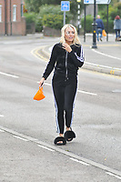 Amber Dowding<br /> arriving for filming for the Towie Diwali party at sugar hut brentwood essex <br /> <br /> ©Richard Open snappers