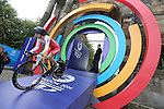 Glasgow 2014 Commonwealth Games<br /> <br /> Elinor Barker (Wales) competing in the Women's time trial race.<br /> <br /> 31.07.14<br /> ©Steve Pope-SPORTINGWALES