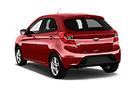 Car pictures of rear three quarter view of 2017 Ford KA+ Ultimate 5 Door Hatchback Angular Rear
