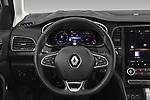 Car pictures of steering wheel view of a 2020 Renault Megane Intens 5 Door Wagon Steering Wheel