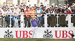 Sam Brazel of Australia tees off the first hole during the 58th UBS Hong Kong Golf Open as part of the European Tour on 11 December 2016, at the Hong Kong Golf Club, Fanling, Hong Kong, China. Photo by Vivek Prakash / Power Sport Images