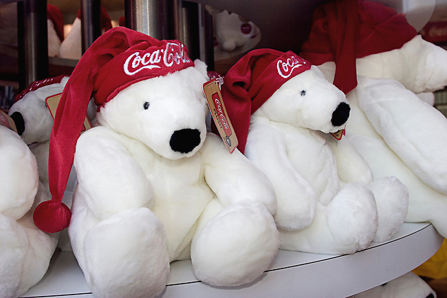 Teddy Bears, Coca Cola, Las Vegas, Nevada