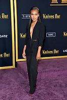 "LOS ANGELES, USA. November 15, 2019: Kourtney Jorge at the premiere of ""Knives Out"" at the Regency Village Theatre.<br /> Picture: Paul Smith/Featureflash"