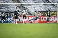 Belo Horizonte (MG) 16.02.20, Atlético MG-Caldense - Filipe abre o placar de penalti para a Caldense - partida entre Atlético-MG e Caldense, válida pela 6a rodada do Campeonato Mineiro, no Estadio Mineirão em Belo Horizonte, MG, neste domingo (16)