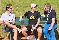 08-07-13, Netherlands, Scheveningen,  Mets, Tennis, Sport1 Open, day one, Matwe Middelkoop (NED)<br /> <br /> <br /> Photo: Henk Koster