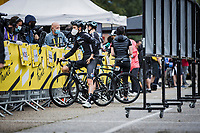 Tiesj Benoot (BEL/DSM) pre race interview<br /> <br /> Stage 8 from Oyonnax to Le Grand-Bornand (150.8km)<br /> 108th Tour de France 2021 (2.UWT)<br /> <br /> ©kramon