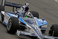 25-26 April, 2009, Kansas City, Kansas, USA.Dario Franchitti (#10).©F. Peirce Williams 2009 USA.ref: RAW (.NEF) image available