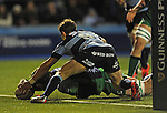 Connacht's Aly Muldowney scores his sides second try<br /> Guiness Pro12<br /> Cardiff Blue v Connacht<br /> BT Sport Cardiff Arms Park<br /> 06.03.15<br /> ©Ian Cook -SPORTINGWALES