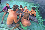 Dolphin / Taking Blood Sample