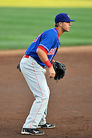 Auburn Doubledays infielder Matt Skole (23) during game against the Brooklyn Cyclones at MCU Park in Brooklyn, NY July 14, 2011. Cyclones won 2-0.  Photo By Tomasso DeRosa/ Four Seam Images