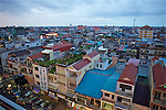 Overlooking Phnom Penh at Dusk