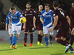St Johnstone v Hearts…10.08.16..  McDiarmid Park…BetFred Cup<br />Steven MacLean<br />Picture by Graeme Hart.<br />Copyright Perthshire Picture Agency<br />Tel: 01738 623350  Mobile: 07990 594431