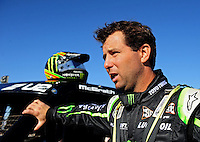 Dec. 9, 2011; Chandler, AZ, USA;  LOORRS pro two unlimited driver Jeremy McGrath during qualifying for round 15 at Firebird International Raceway. Mandatory Credit: Mark J. Rebilas-