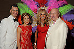 """From left: Mark and Christina Hanson with chairs Jana and Scott Arnoldy at the 2016 Houston Symphony Gala """"Carnaval"""" at Jones Hall Saturday May 14,2016(Dave Rossman Photo)"""