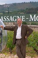 Michel Picard owner dom m picard chateau de ch-m chassagne-montrachet cote de beaune burgundy france