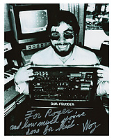 BNPS.co.uk (01202 558833)<br /> Pic: RRAuction/BNPS<br /> <br /> Pictured: A photo signed by Steve Wozniak.<br /> <br /> A fully-working Apple-1 computer has sold for £273,000.<br /> <br /> The pioneering machine is one of the 200 'motherboards' Apple founder Steve Jobs and his associate Steve Wozniak designed in 1976.<br />  <br /> Around 70 Apple-1 computers are known to exist today and of those less than 10 still work.
