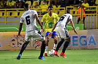 CARTAGENA - COLOMBIA, 25-10-2021: Real Cartagena y Atletico F. C. durante partido de la fecha 14 por el Torneo BetPlay DIMAYOR II 2021 en el estadio Jaime Moron en la ciudad de Cartagena. / Real Cartagena and Atletico F. C. during a match of the 14th date for the BetPlay DIMAYOR II 2021 Tournament at the Jaime Moron stadium in Cartagena city. / Photo: VizzorImage / Javier Garcia / Cont.