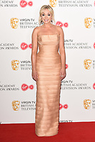 Helen George<br /> in the winners room for the BAFTA TV Awards 2018 at the Royal Festival Hall, London<br /> <br /> ©Ash Knotek  D3401  13/05/2018