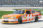 Nationwide Series driver Hal Martin (44) in action during the NASCAR Nationwide Series qualifying at Texas Motor Speedway in Fort Worth,Texas.