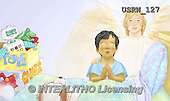 Randy, EASTER RELIGIOUS, OSTERN RELIGIÖS, PASCUA RELIGIOSA, paintings+++++Our-Lords-Prayer-Book-10-11,USRW127,#ER#