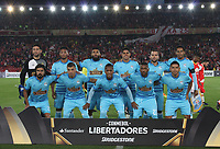 BOGOTA -COLOMBIA, 4-03-2017. Team of Sporting Cristal of Peru.Action game between Independiente Santa Fe of Colombia and Sporting Cristal of Peru during match for the date 2   for the Conmebol Libertadores Bridgestone Cup 2017 played at Nemesio Camacho El Campin stadium . Photo:VizzorImage / Felipe Caicedo  / Staff