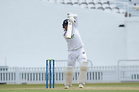 Liam Dawson of Hampshire CCC drives through the covers for four runs during Surrey CCC vs Hampshire CCC, LV Insurance County Championship Group 2 Cricket at the Kia Oval on 1st May 2021