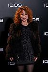 Vicky Larraz attends to IQOS3 presentation at Palacio de Cibeles in Madrid, Spain. February 13, 2019. (ALTERPHOTOS/A. Perez Meca)