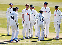 during Kent CCC vs Yorkshire CCC, LV Insurance County Championship Group 3 Cricket at The Spitfire Ground on 16th April 2021
