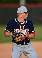 Lake Brantley Patriots third baseman Griffin Bernardo (11) during practice before a game against the Lake Mary Rams on April 2, 2015 at Allen Tuttle Field in Lake Mary, Florida.  Lake Brantley defeated Lake Mary 10-5.  (Mike Janes/Four Seam Images)