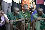 Residents of Rumbek, South Sudan, gather at Freedom Square on Africa Malaria Day.