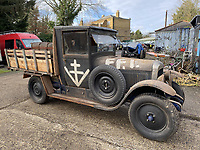 Citroen truck used by the French Resistance during World War Two has sold for almost £9K